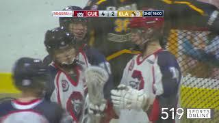 Junior B Lacrosse - Elora Mohawks vs Guelph Regals