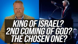 INSANE!!! Trump Indicates He's the 'King of Israel,' the '2nd Coming of God,' and 'the Chosen One.'