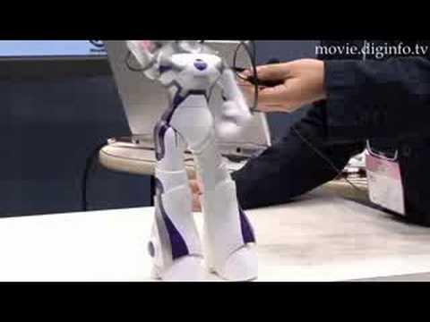 SEGA EMA - Robot Demonstration - Tokyo Toy Show 2008 : DigInfo - UCOHoBDJhP2cpYAI8YKroFbA