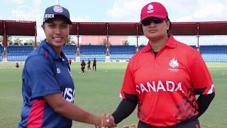 ICC Women's Qualifier 2019 – Americas: USA v Canada highlights