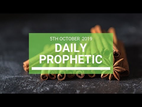 Daily Prophetic 5 October 2019   Word 8