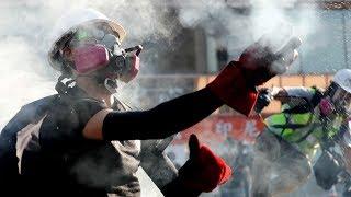 Hong Kong protests increasingly chaotic, violent
