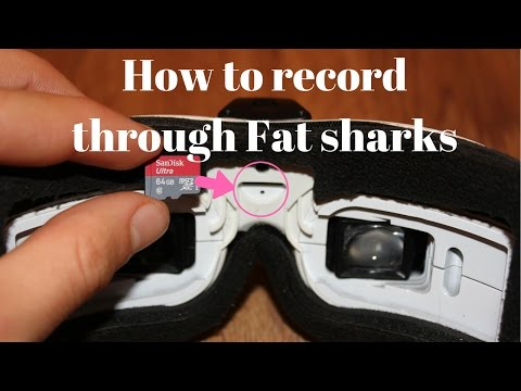 How to record through fat shark goggles (DVR) - UCmUdOEol1idpXa1EPjQgYDQ