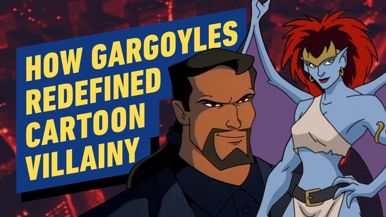 How Gargoyles Redefined Cartoon Villainy