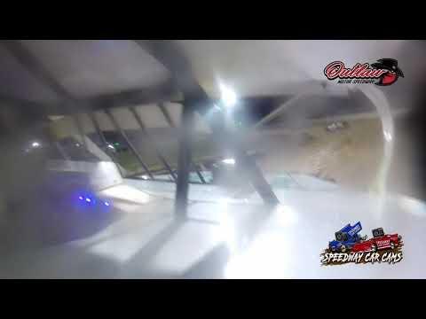 #8 Dillion McCowan - Usra Modifed - 10-16-2021 Outlaw Motor Speedway - In Car Camera - dirt track racing video image