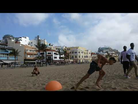 People are awsome. Free running parkour guys on the beach. - UC7EgSSXwEVNB_F5zAKe64mw