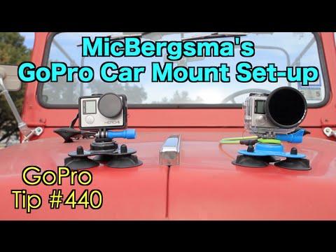 MicBergsma's GoPro Car Mount Set-up - GoPro Tip #440 - default