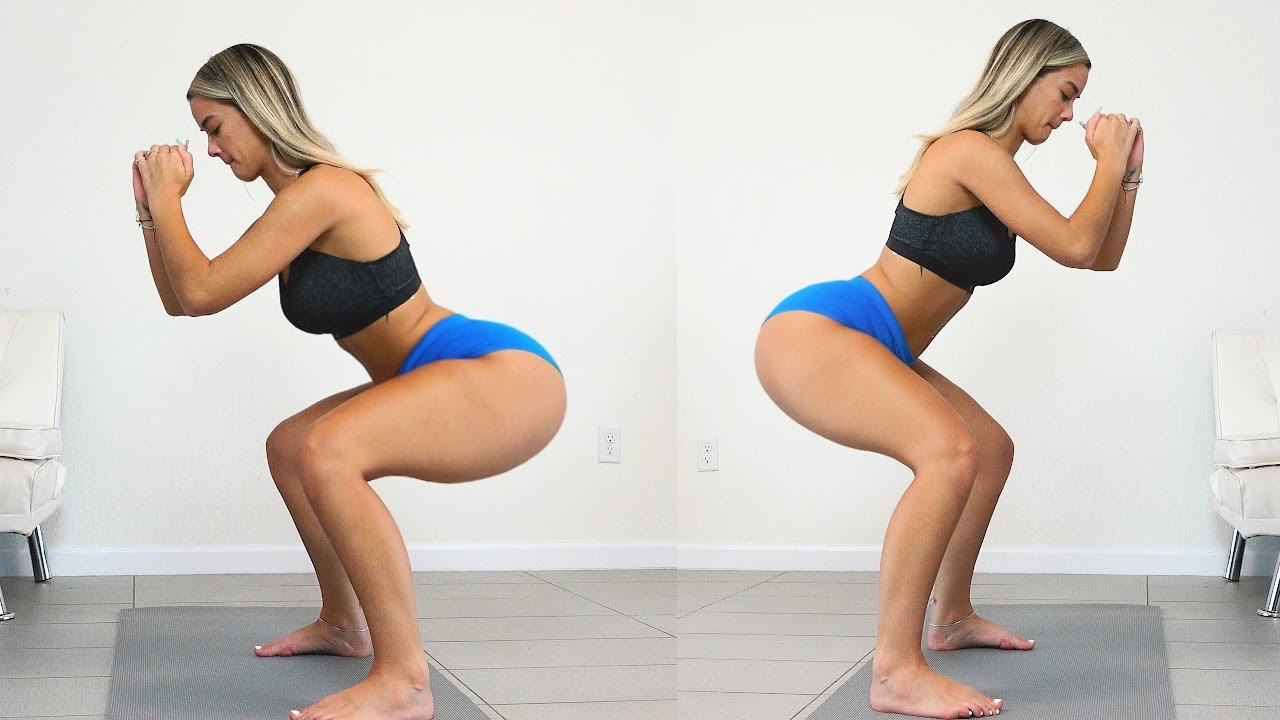Hot Girls BIG BUTT and THICK THIGHS Workout is AMAZING!!!