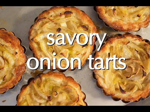 Dinner Party Tonight Shorts: Savory Onion Tarts