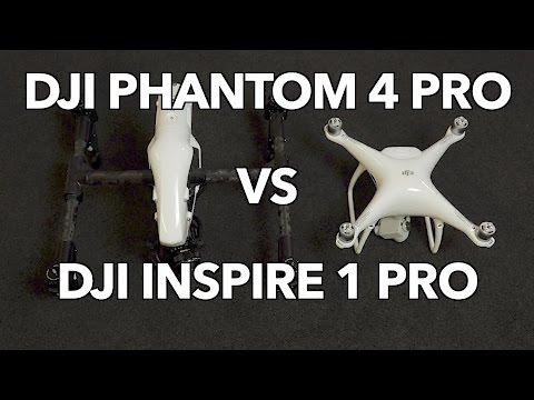 DJI Phantom 4 Pro vs DJI Inspire 1 Pro