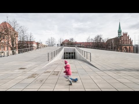 World Building of the Year 2016 is part building, part topography says architect Robert Konieczny