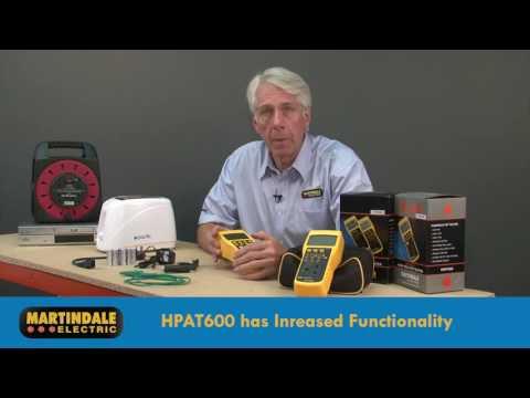Martindale HPAT Easy PAT Testing - HPAT500, HPAT600