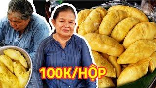 'Choáng' hộp xôi Sầu Riêng nguyên múi 100k Xôi của nhà giàu