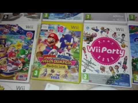 Regalo de mi hermano Luís: La Nintendo Wii + extras
