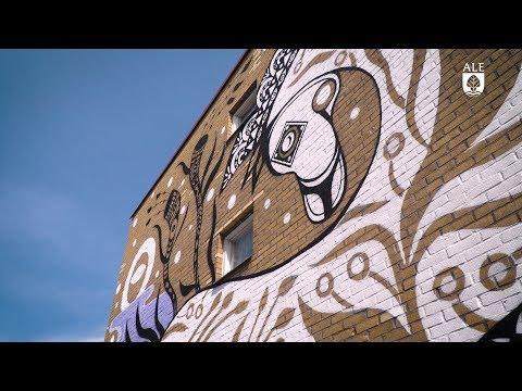 Ale kommun – Muralmålningar i Nödinge, Artscape saga
