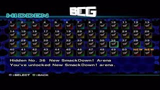 WWF SmackDown Just Bring It All Hidden Unlockables