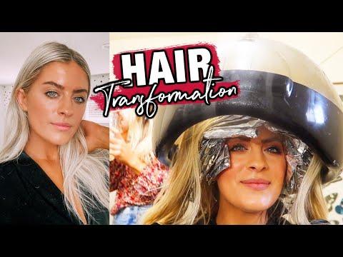 IT'S GLOW UP SEASON!!! HAIR TRANSFORMATION