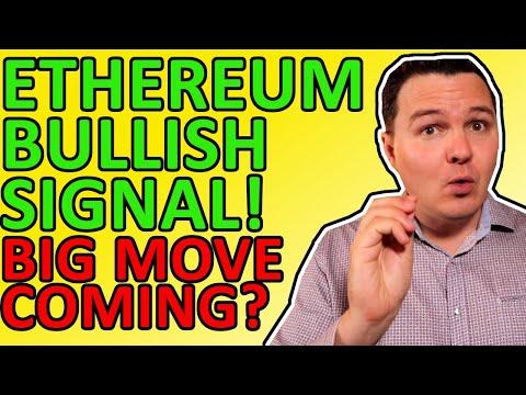 ETHEREUM INCREDIBLY BULLISH SIGNAL EXPLAINED! ETHEREUM NEWS TODAY