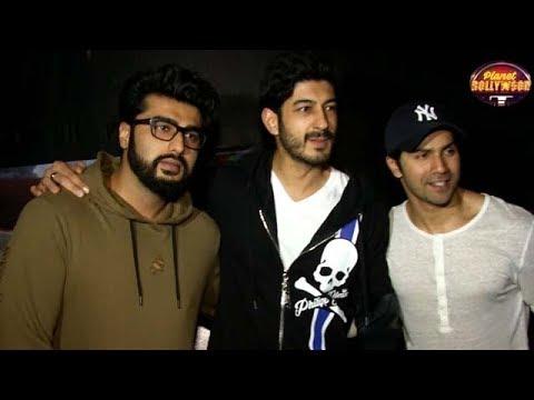 Varun Dhawan & Arjun Kapoor Attend 'Raagdesh ' Screening | Bollywood News