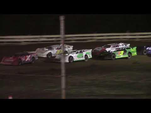 Hummingbird Speedway (8-14-21): Carns Equipment Super Late Model Feature - dirt track racing video image