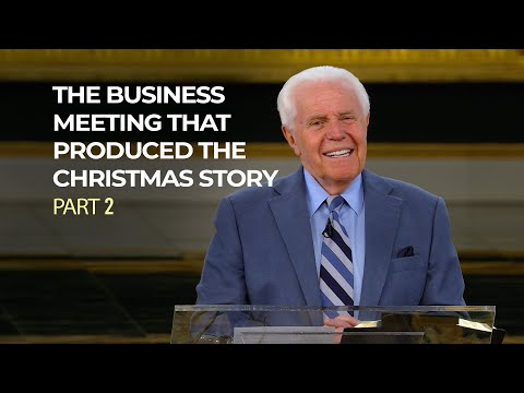 The Business Meeting That Produced The Christmas Story, Part 2  Jesse Duplantis