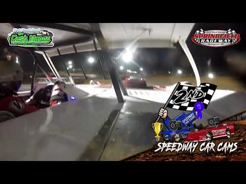 #1USA- Cash Money Late Model - 4-11-2021 Springfield Raceway - In Car Camera - dirt track racing video image