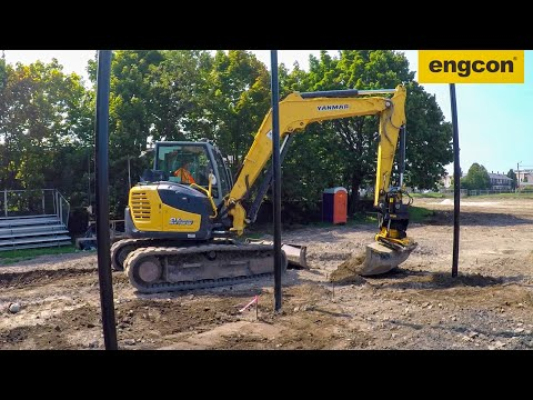 Fleming Bros saves time and money with engcon Tiltrotator