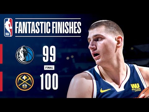 CLUTCH Moments Down The Stretch Between The Mavericks & Nuggets | March 14, 2019