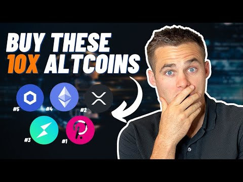 Top 5 Best Altcoins To BUY NOW (...Before They 10X)