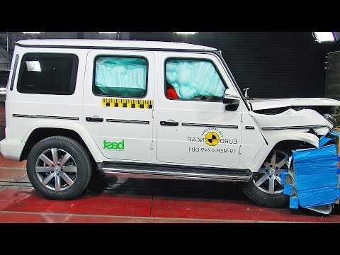 "2019 MERCEDES G-CLASS ? Really Safe"""""" ? Crash Test"