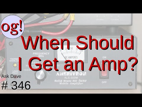 When Can I Get an Amp for Ham Radio? (#346)
