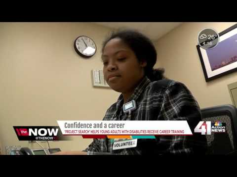 Program gives young adults with disabilities job training