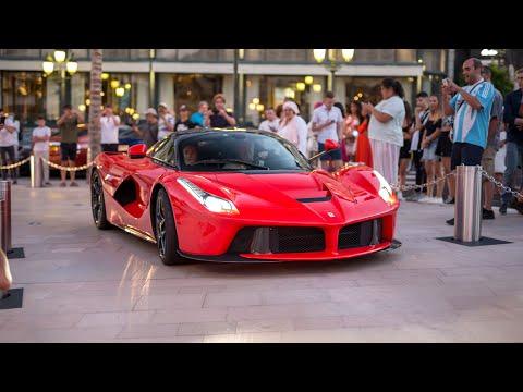 Supercars in Monaco 2020 - VOL. 28 (ONE-77, Novitec N-Largo 812, LaFerrari, 918 Spyder, F12 TDF)