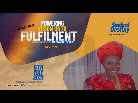 Dr Becky Paul-Enenche - SEEDS OF DESTINY  WEDNESDAY MAY 5, 2021