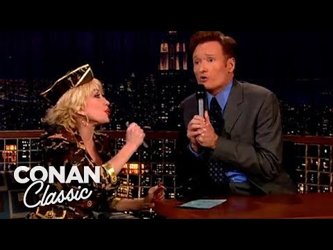 "Dolly Parton Names Her Worst Songs - ""Late Night With Conan O'Brien"""