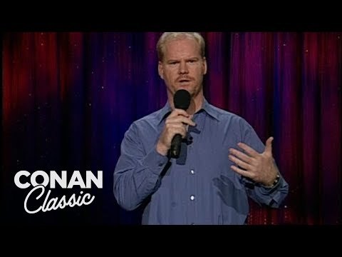 "Jim Gaffigan On Hanging Out With Beautiful People - ""Late Night With Conan O'Brien"""