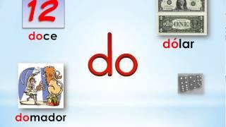 7 Sílabas Da De Di Do Du Syllables With D Youtube