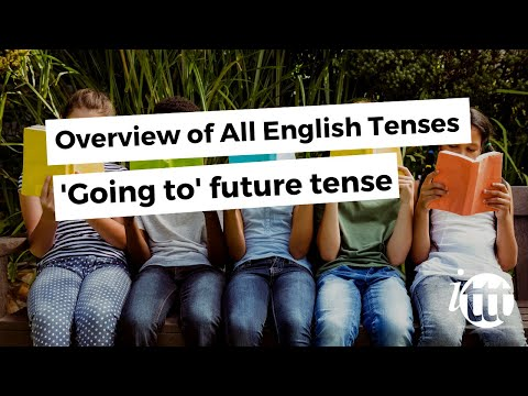 English Grammar -- 'Going to' future tense -- Online TEFL Course