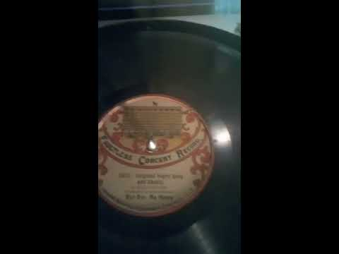 Extremely Rare Faultless Concert Record...Billy Golden..Bye bye my honey..Circa 1905