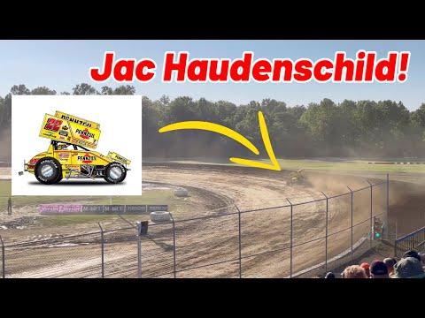 Jac Haudenschild Farewell Tour Qualifying at MUSKINGUM COUNTY SPEEDWAY! - dirt track racing video image