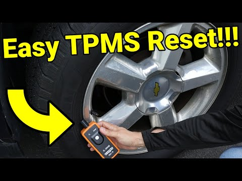 Chevy/GMC/General Motors TPMS Relearn/Reset using Amazon Tool