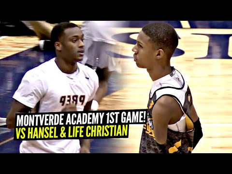 Montverde Academy FIRST GAME Of Season vs Hansel Enmanuel! The Most OP Team In The Nation!?