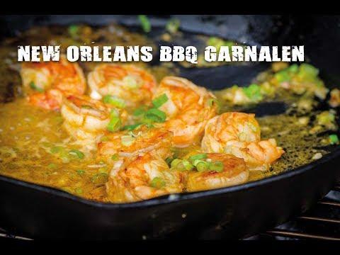 New Orleans BBQ garnalen | Fire&Food TV