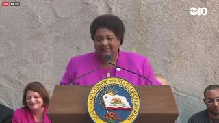 Assemblywoman Shirley Weber talks about the importance of AB392 | RAW