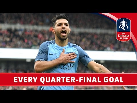 Every Quarter Final Goal - Emirates FA Cup 2016/17   Official Highlights