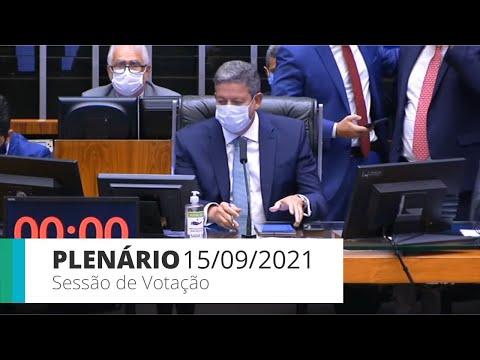Plenário - Votação Novo Código Eleitoral (PLP 112/21) - 15/09/2021