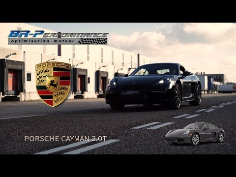 Porsche Cayman 718 2.0T Stage 1 Remap By BR-Performance