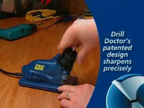 Drill Doctor Drill Bit Sharpener - 3/32in. Dia. to 1/2in. Dia. Bits, Model# DD350X