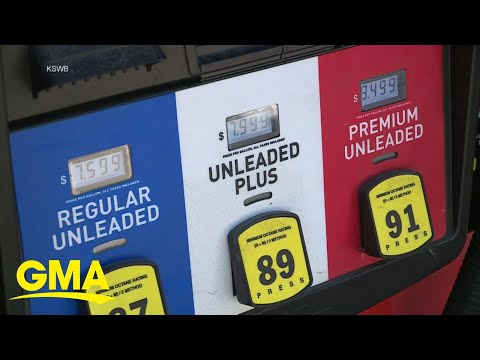 Gas prices hit seven-year high l GMA