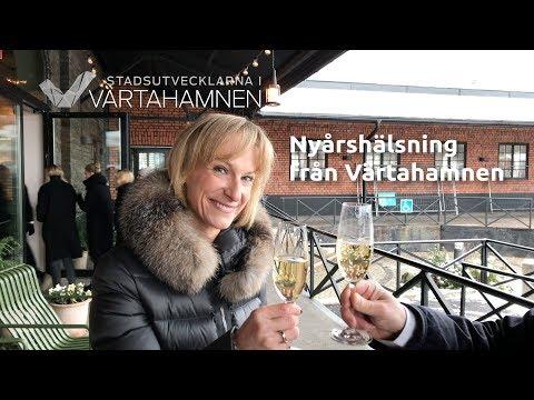 Nyårshälsning från Stadsutvecklarna i Värtahamnen!